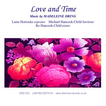 Cover artwork for Love and Time: Music by Madeleine Dring