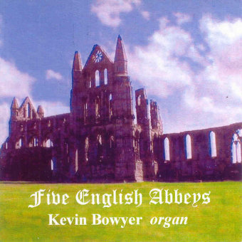 Cover artwork for Five English Abbeys