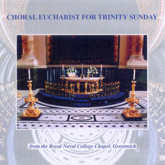 Cover artwork for Choral Eucharist for Trinity Sunday