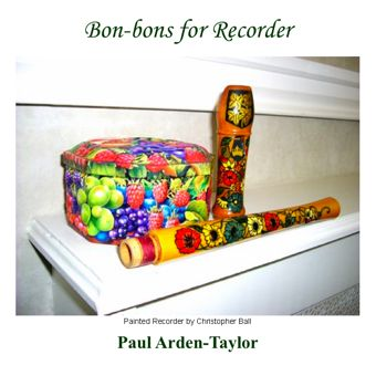 Cover artwork for Bon-Bons for Recorder