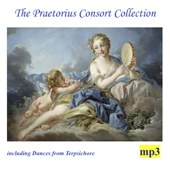 Cover artwork for The Praetorius Consort Collection