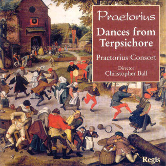 Cover artwork for Dances from Terpsichore